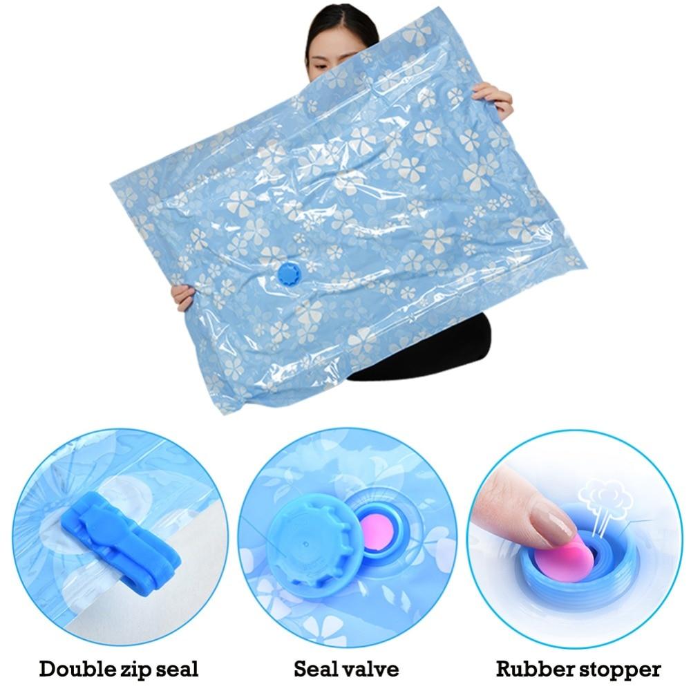 11 قطعة سميكة فراغ تخزين حقيبة الملابس المنظم للقماش مضغوط حقيبة مع مضخة