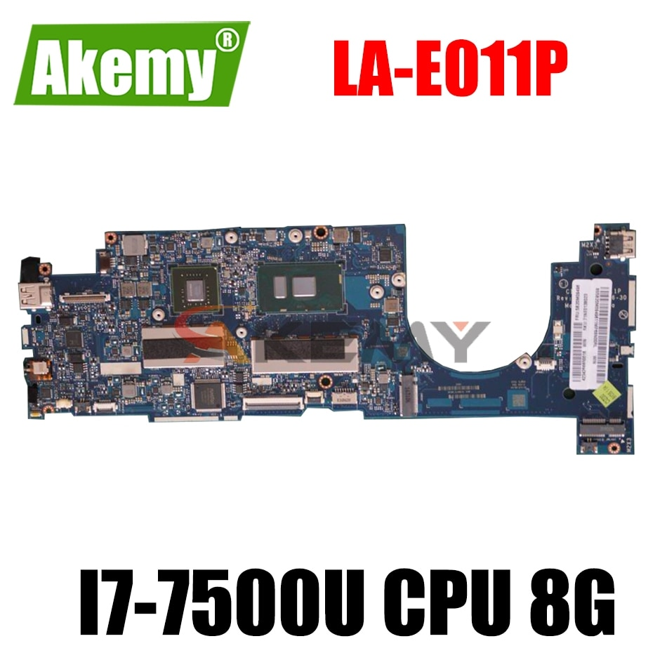 لينوفو الهواء 13 برو 13 برو 710S زائد Touch-13IKB اللوحة الأم الكمبيوتر المحمول CIZ00 LA-E011P مع I7-7500U وحدة المعالجة المركزية RAM 8G 100% اختبارها بالكامل