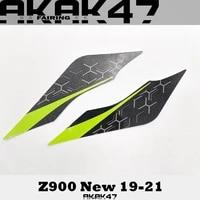 for kawasaki z900 2019 2020 2021 sticker decal front sticker fairing full car sticker matte graphite green 56076b 56076a 56076c