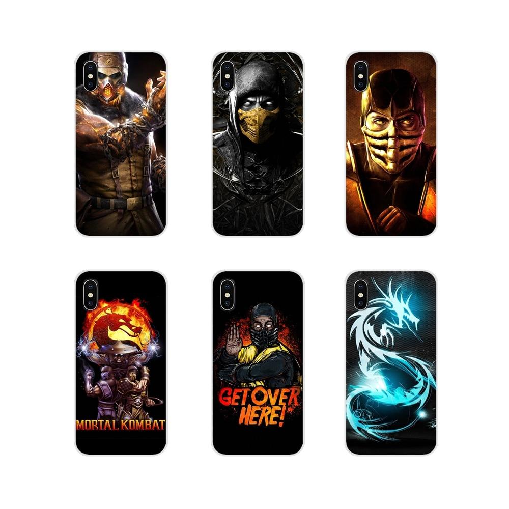 Accesorios fundas de carcasa para teléfono Mortal Kombat para Xiaomi mi 4 mi 5 mi 5S mi 6 mi A1 A2 5X6X8 9 Lite SE Pro mi Max mi x 2 3 2S