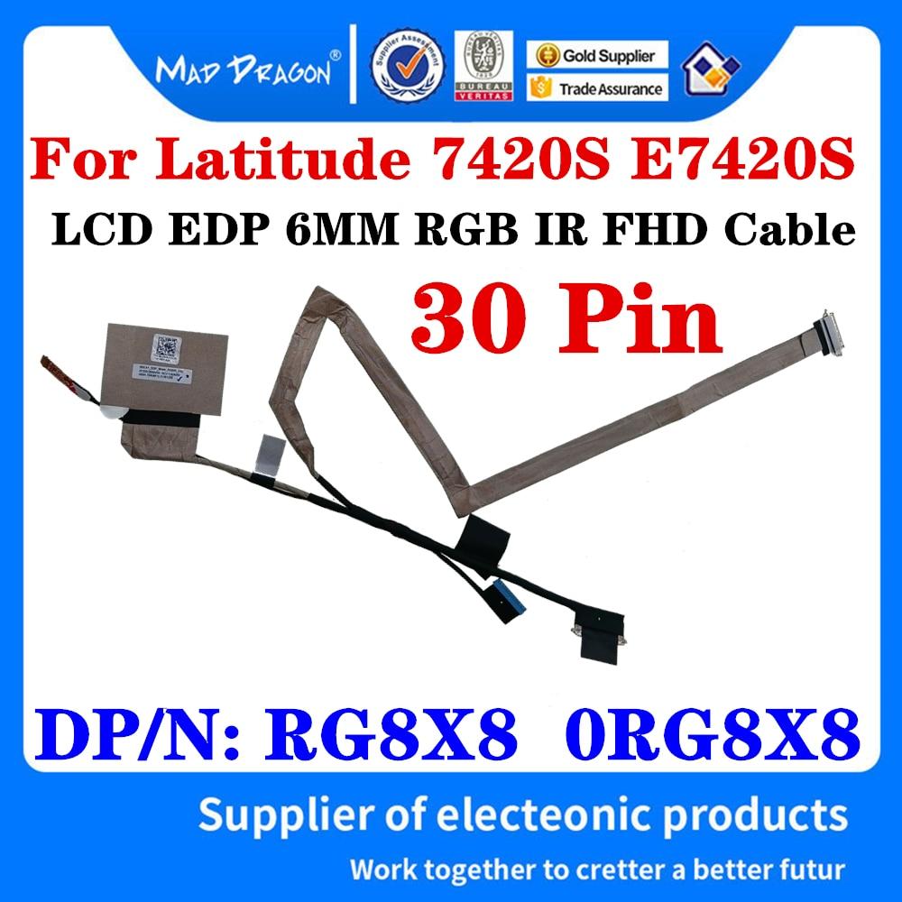 Nuevo RG8X8 0RG8X8 DC02C00QV00 para Dell Latitude 7420 E7420S GDC41 portátil ordenador...
