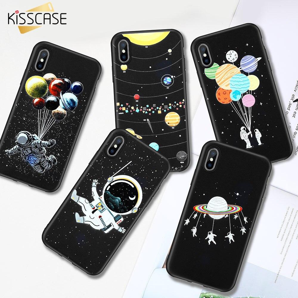 KISSCASE Moon Space TPU Case For Redmi 6pro Cover Note 7Pro Note7 5 6 4 4x 5plus Cases For Xiaomi MI 9SE A1 A2 Lite 9 8Lite Capa