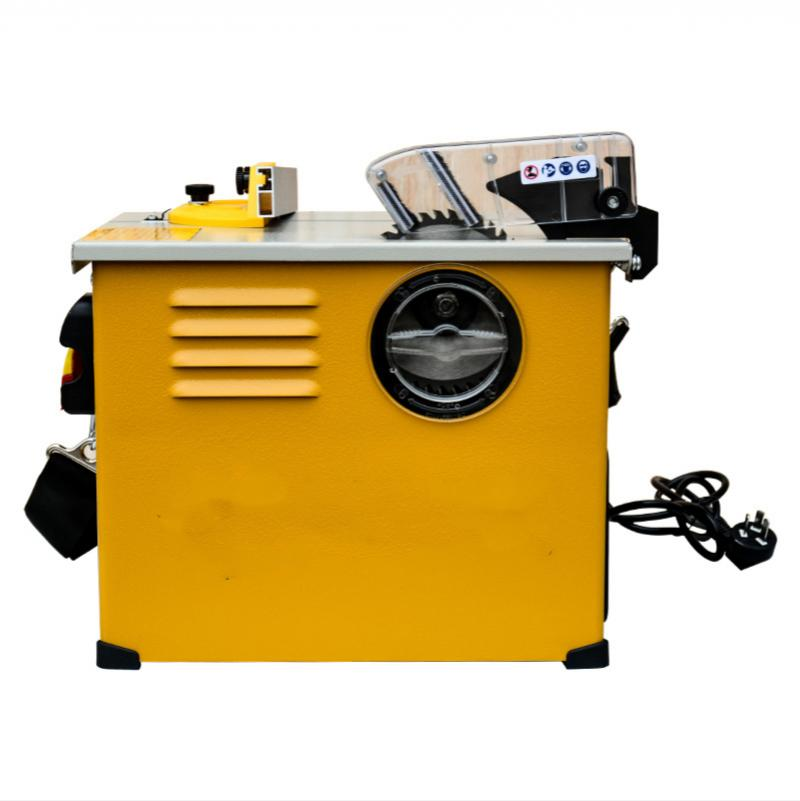 new clean table saw multifunctional small woodworking chainsaw cutting machine wood table saw 2300W 220V / 50hz 4900r / min