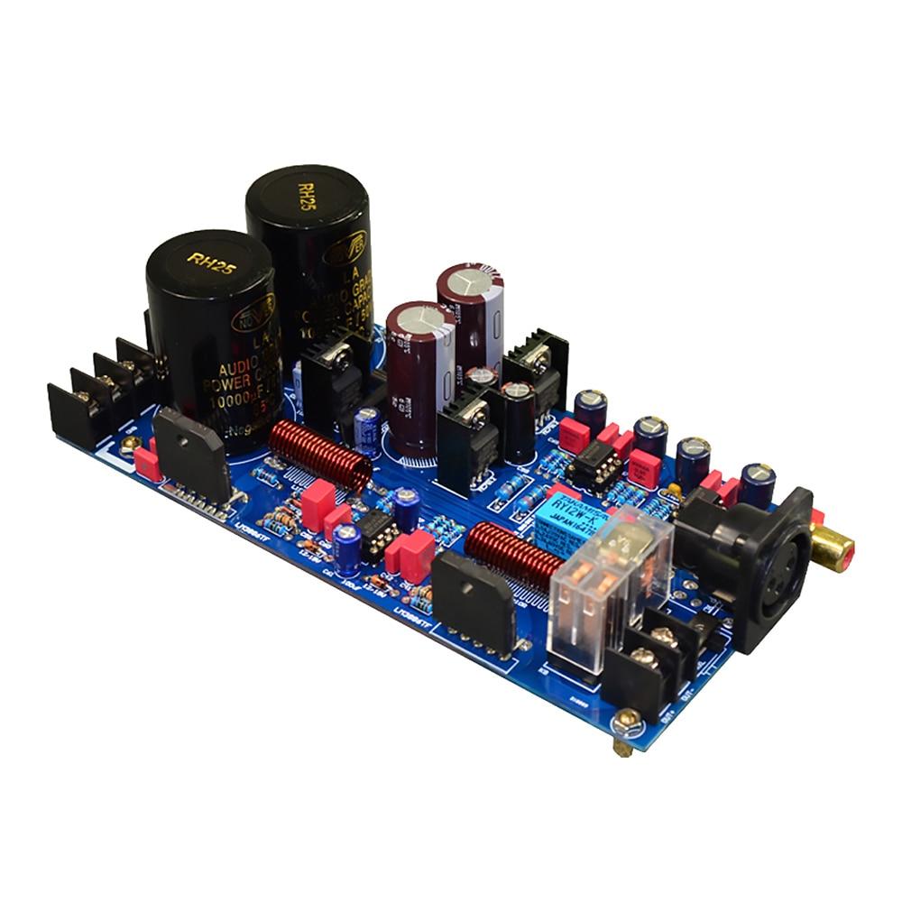 AIYIMA-لوحة مكبر صوت متوازنة LM3886 ، 125 واط ، BTL أحادي النهاية ، قناة أحادية ، HIFI ، للصوت المنزلي ، DIY