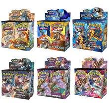 324 pièces Pokemon porte-cartes Album Album jouets Collections cartes haut populaire enfants bataille jeu carte enfant jouet cadeaux