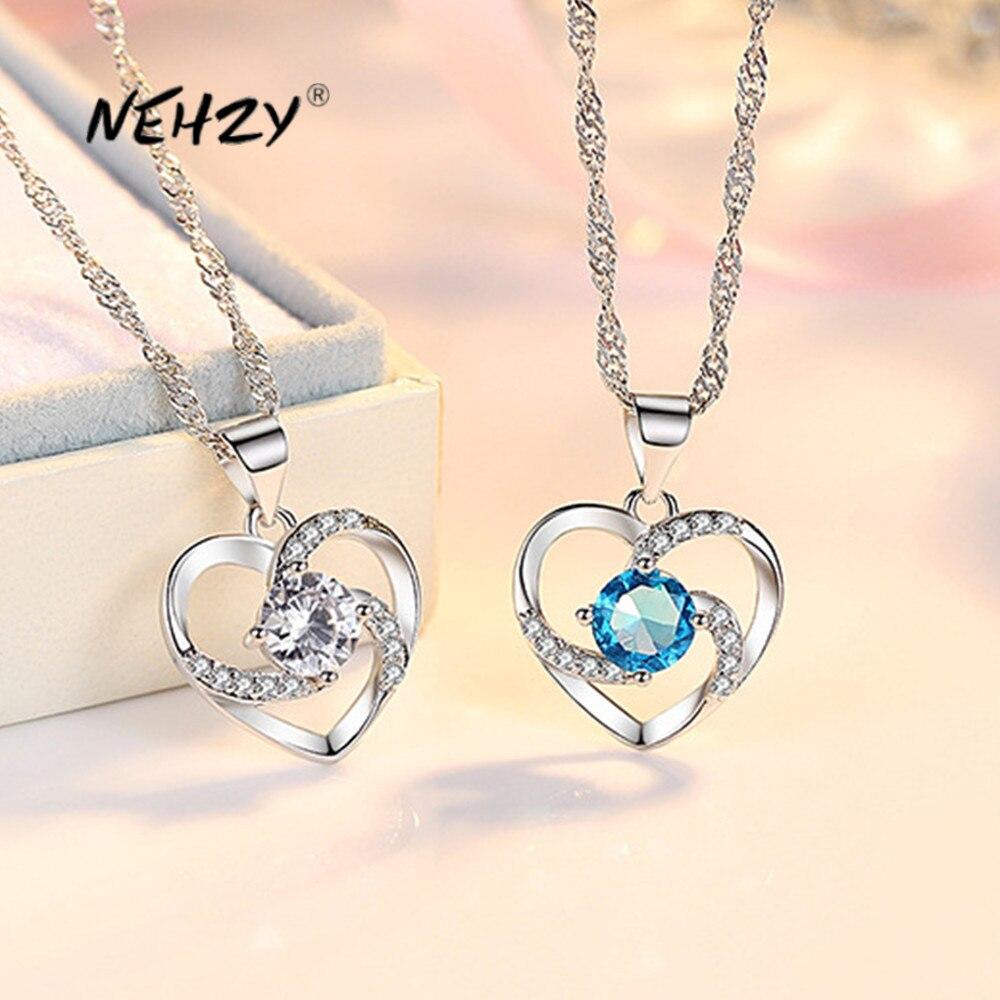 nehzy-925-стерлингового-серебра-новые-женские-модные-ювелирные-изделия-высокого-качества-с-украшением-в-виде-кристаллов-Циркон-полые-стильный