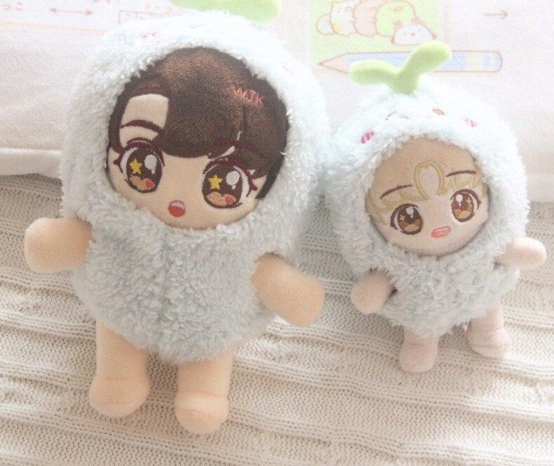[MYKPOP] ropa y accesorios para muñecas KPOP, jersey con capucha de delfines para muñecas de 20cm y 15cm (sin muñeca), regalo para seguidores SA19120101