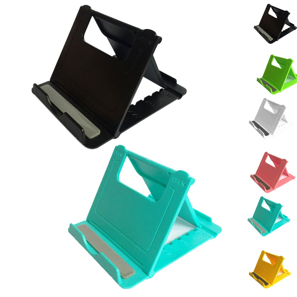 Adjustable Mobile Phone Holder Stand Foldable Smartphone Support Tablet Stand for Phone Desk Cell Ph