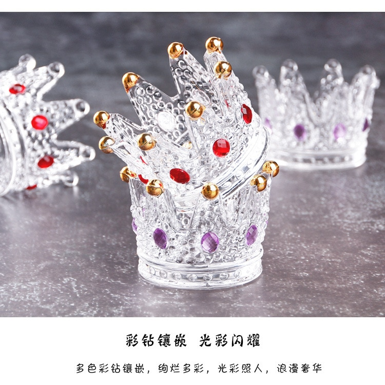 Многофункциональный Хрустальный подсвечник в форме короны
