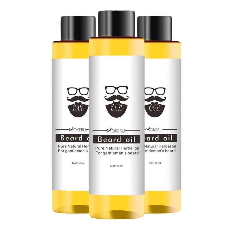 100% Organic Beard Oil 30ml Stronger Fuller Thicker Beard Universal Care Hair Loss Products Spray TS
