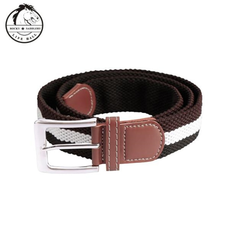Cavassion Equestrian Elastic Horse Riding belt which can fasten the breeches on the waist