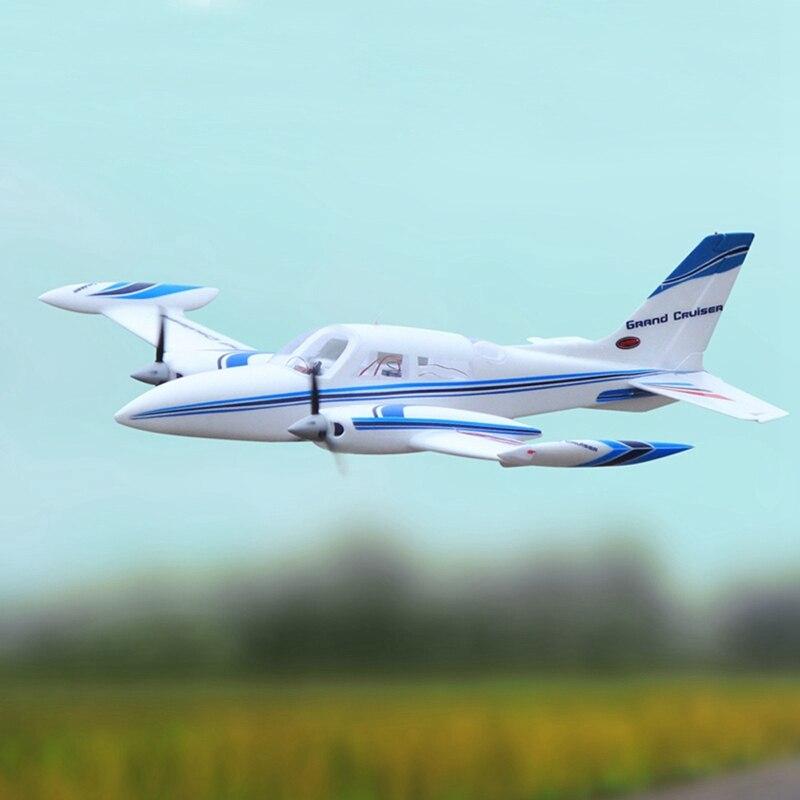 Motor eléctrico para principiantes Dynam Cessna 310 Grand Cruiser V2 1280mm Wingspan EPO escala modelo edificio RC avión PNP