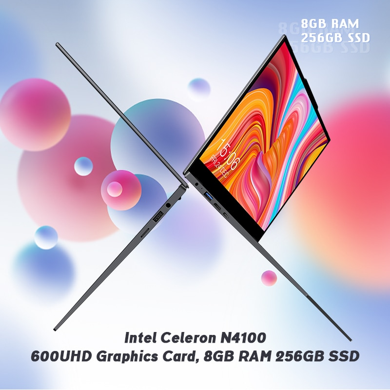 New CHUWI LarkBook 13.3inch 1920*1080 IPS Touch Screen 8GB RAM 256GB SSD Laptop Intel N4120 Quad Core Windows 10 Computer PC