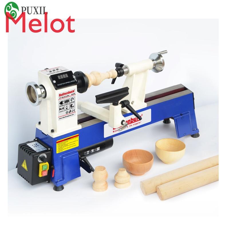 Woodworking lathe miniature household multifunctional desktop wood spinning machine small beads machine  lathe polishing machine enlarge