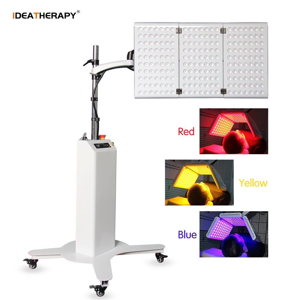2021 New 7 Colors BIO LED Light Therapy Machine PDT Anti-aging Wrinkles Removal Acne Treatment Beauty Lamp