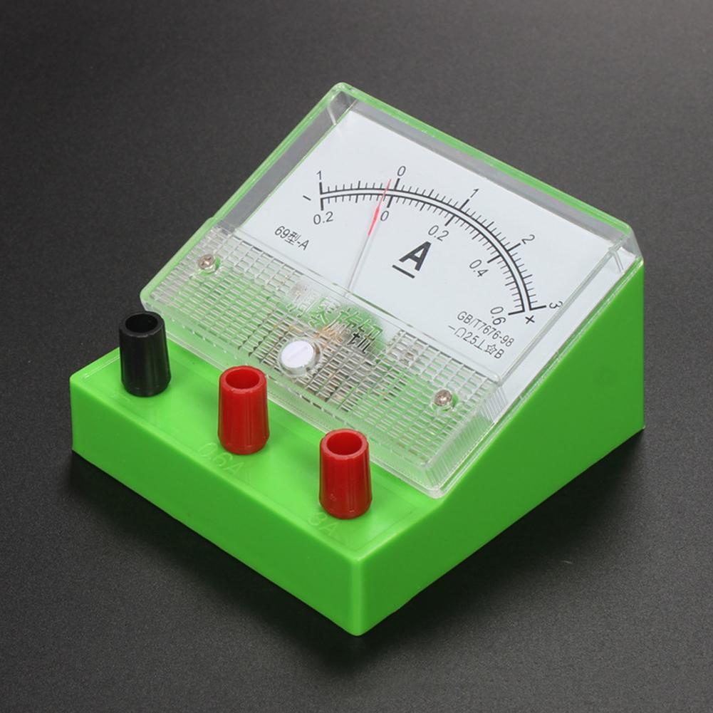 Medidor de voltímetro analógico classe 2.5 eletricidade ferramenta de ensino experimento fácil de ler e tem baixo consumo presentes perfeitos