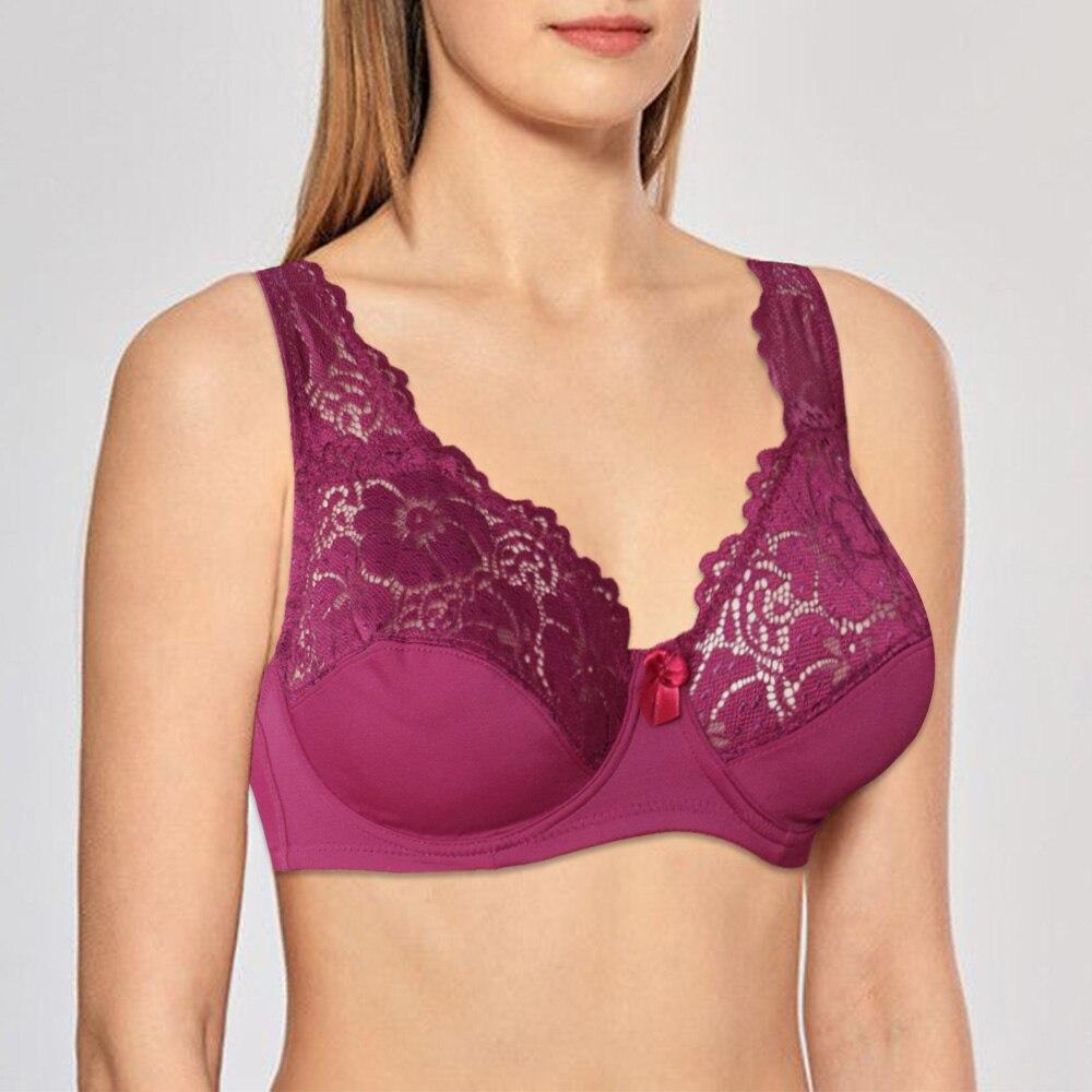 Sutiã para mulher floral sem forro sutiã de renda ver através do sutiã oco para fora lingerie sexy underwired bralette underwear topos