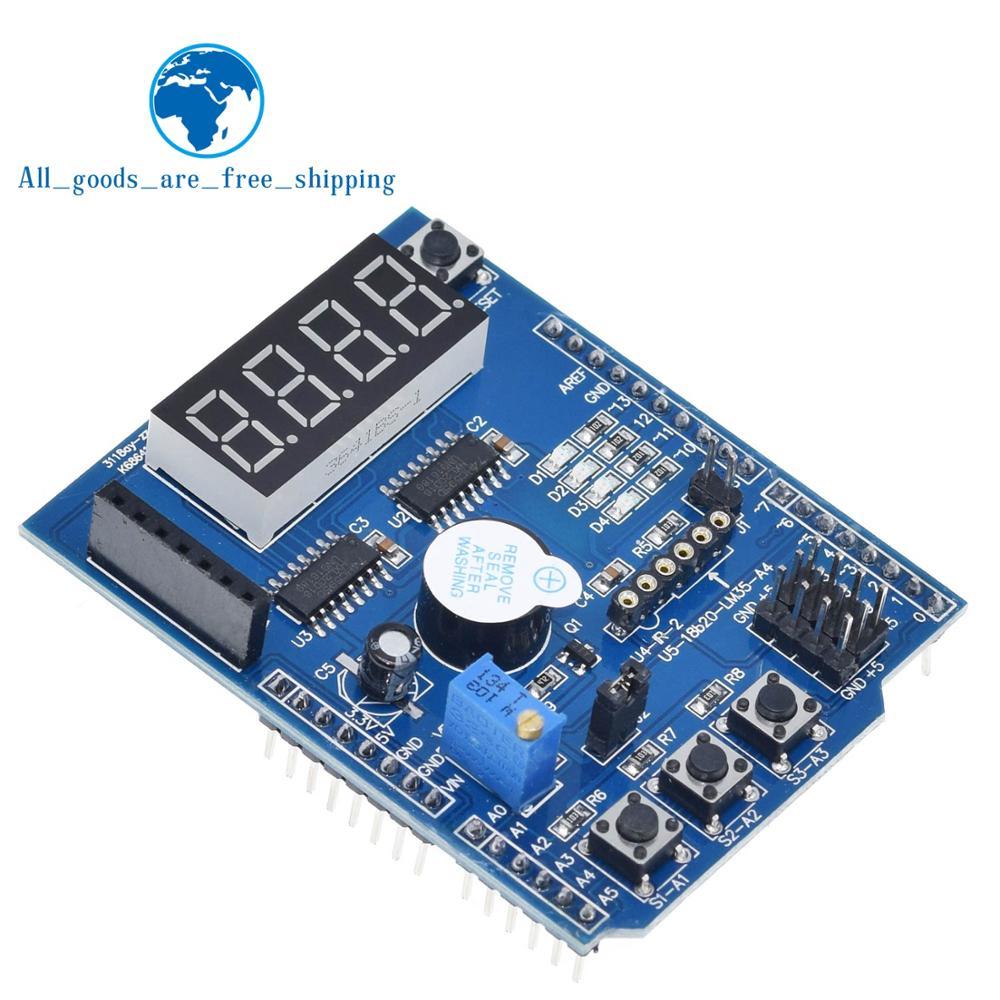 Multifunctional expansion board kit based learning for arduino UNO r3 LENARDO mega 2560 Shield