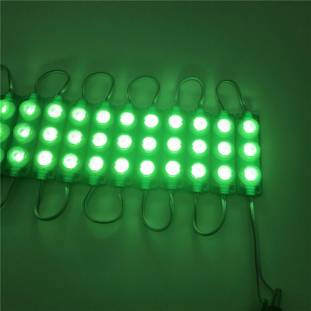 500pcs/lot DC 12V Side Light 2.5W Smd 2835 1 Led Module Light Box Modules With Lens 180 Degree Injection High Brightness Sid enlarge