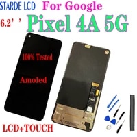 6 2 inch for google pixel 4a 5g lcd g025i ga01311 display touch screen digitizer assembly for google pixel 4a 5g diaplay pixel4a