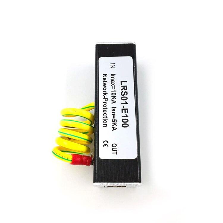 Taidacent молниеотвод Ethernet Lan проводной сетевой адаптер подавитель защита Rj45 Защита