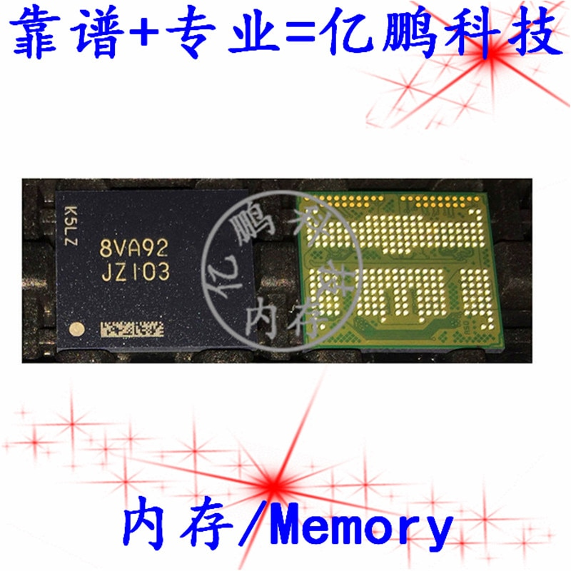 شحن مجاني JZ103 MT29VZZZAD9DQKSM-046 W.9K9 BGA254EMCP 128GB 2 قطعة