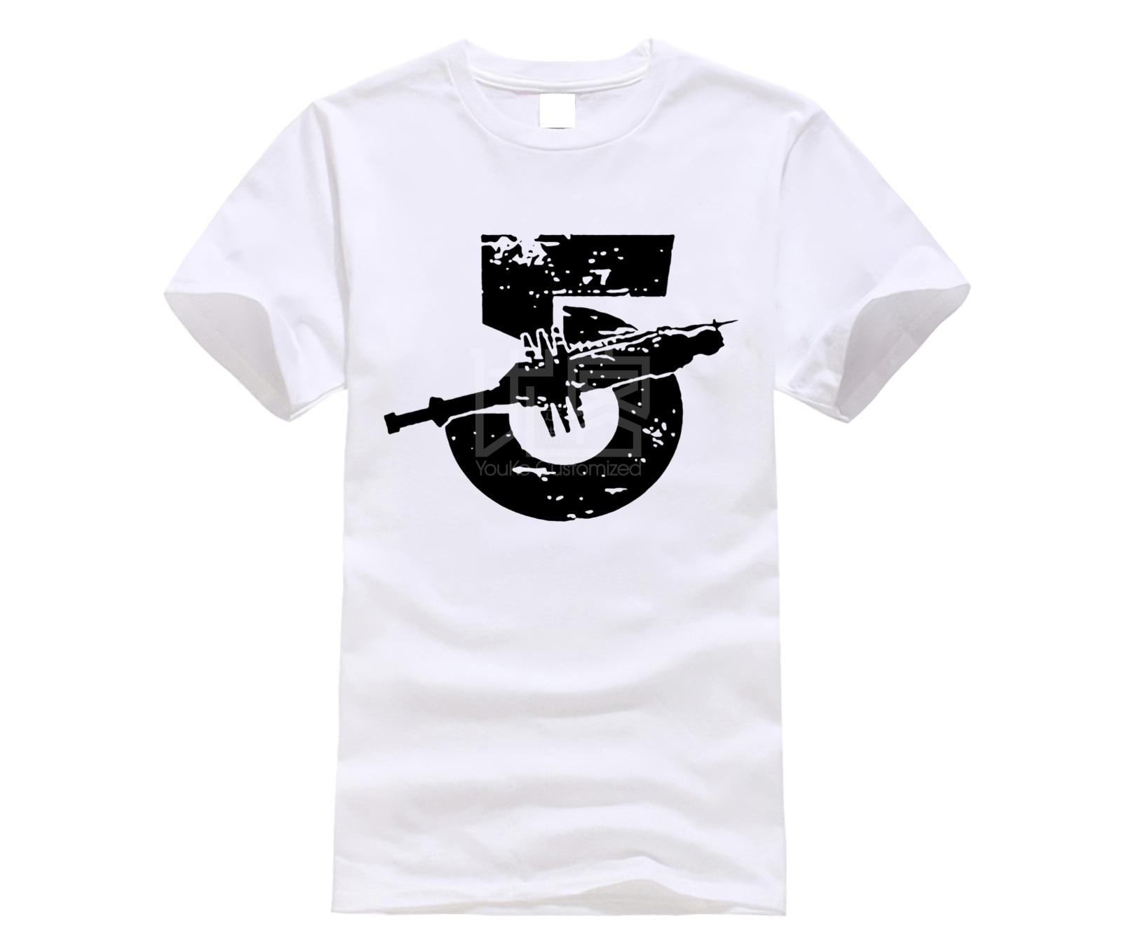 Camisa designer de t Frete Grátis Babilônia 5 Impresso Verão Novo Projeto Do Vintage de manga Curta T-Shirt O-pescoço
