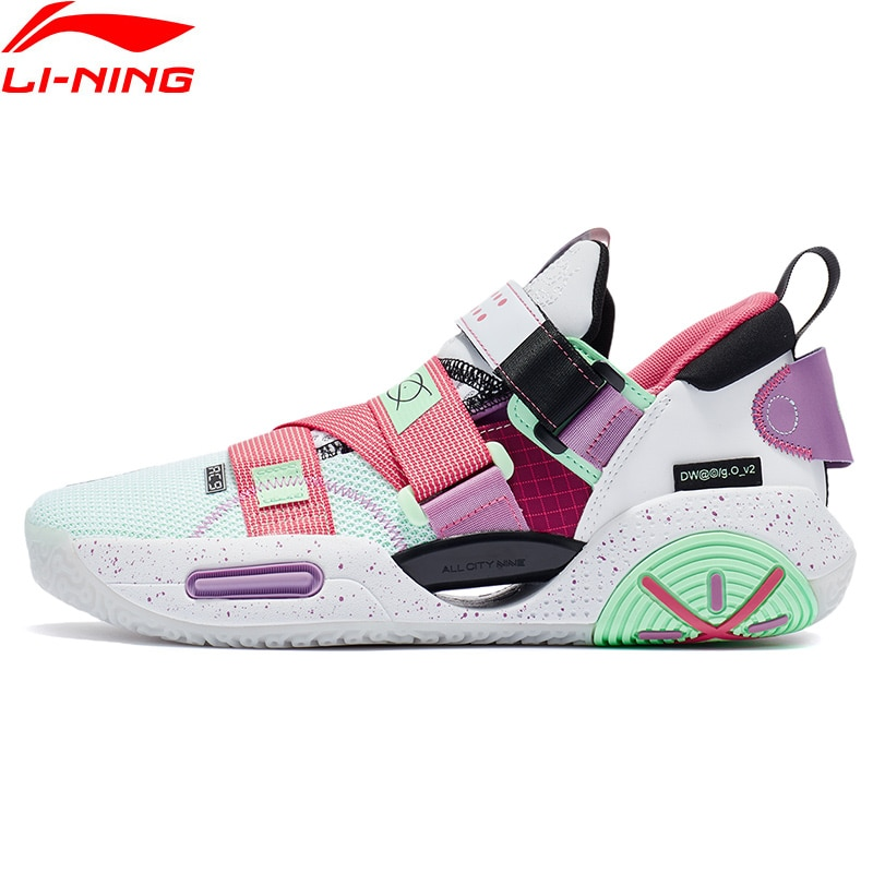 Li-Ning Men Wade AC9 V2 Professional Basketball Shoes ALL CITY 9 Cushion BOOM LiNing CLOUD Stable Durable Sport Shoes ABAR075