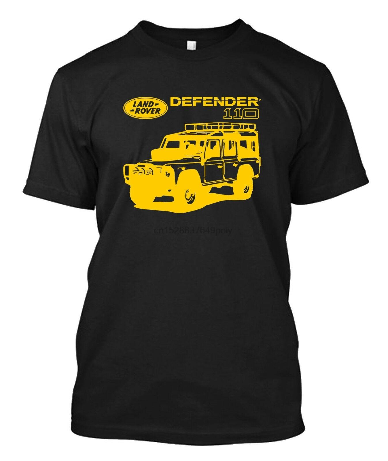 Camiseta Defender 110 Land para hombre Rover-camiseta personalizada