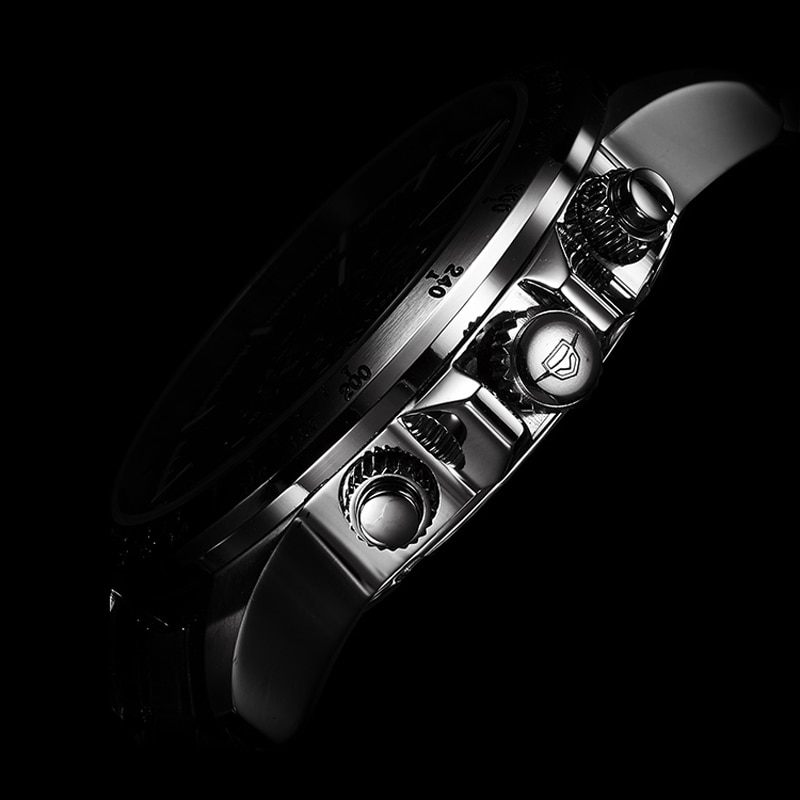AILANG New Men's Fashion Business 30M Life Waterproof Luminous Hollow Mechanical Automatic Stainless Steel Strap Watches 206 enlarge