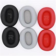 Red Grey High Quality Ear Pads For Edifier W820BT W828NB Headphones Replacement Foam Earmuffs Ear Cu