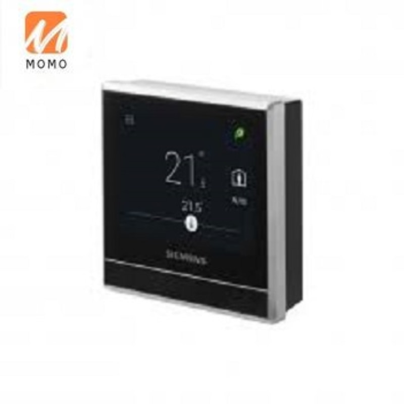 RDS110 ترموستات الغرفة الذكية مع الهاتف الذكي باستخدام خدمة سحابة الراحة سيمنز المدمج في الاستشعار