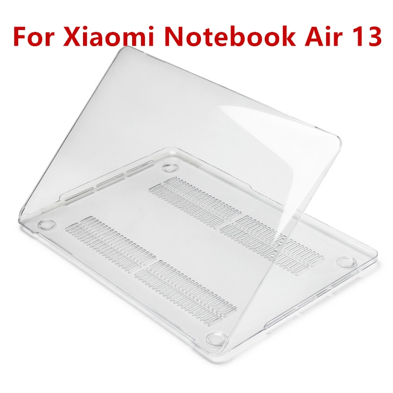 Transparent Case for Xiaomi Mi Notebook Air 13.3 Crystal Clear Hard Computer Laptop Protective Cover