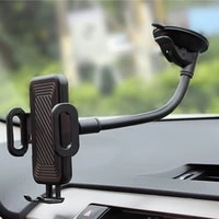 windshield car phone mount universal cell phone holder cradle for car with suction cup easy one touch for