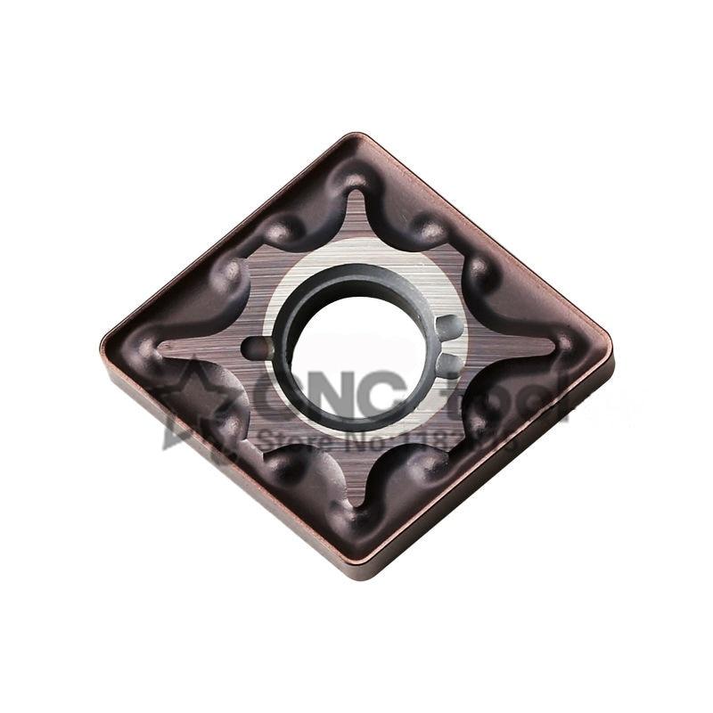 Portaherramientas de torneado para MCLNR/MCMNN/MCKNR, de acero inoxidable, CNMG120404-MA/CNMG120408-MA * 10 Uds.
