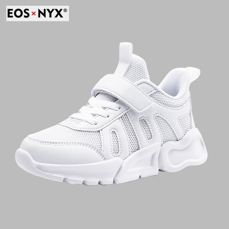 EOSNYX Kids Running Shoes Spring Summer Sneakers Student Shoes for Boys and Girls Children Flats Sch