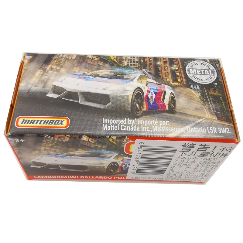 2020 Matchbox Cars 164 coche LAMBORGHINIS GALLARDO policía Metal Diecast aleación modelo coche vehículos de juguete