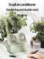 portable usb air conditioner fan refrigeration mini electric fan small air cooler home office desktop mobile water cooling fan