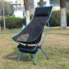 2021 sedia da campeggio all'aperto Oxford panno portatile pieghevole sedia da campeggio sedile per Festival di pesca Picnic BBQ sedia da esterno