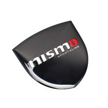 Aluminum Emblem Trunk Body Decoration Car Sticker For Nissan nismo 350z 370z nv200 np300  rogueuae jukex-trail versa gt-r leaf