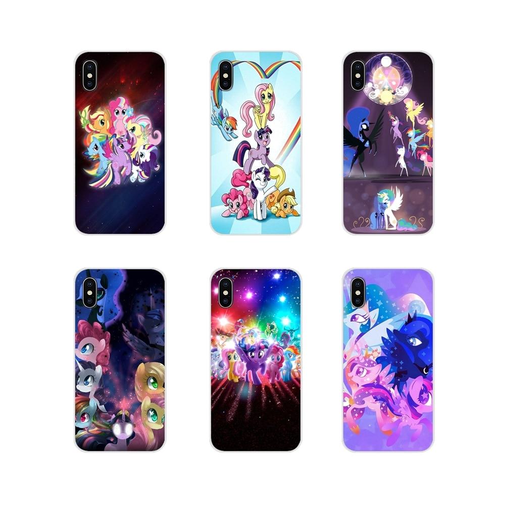 Para Xiao mi mi mi 4 5 6 5S mi mi mi A1 A2 5X6X8 9 lite SE Pro Max mi mi x 2 3 2 Legal S My Little Pony Acessórios Phone Cases Covers