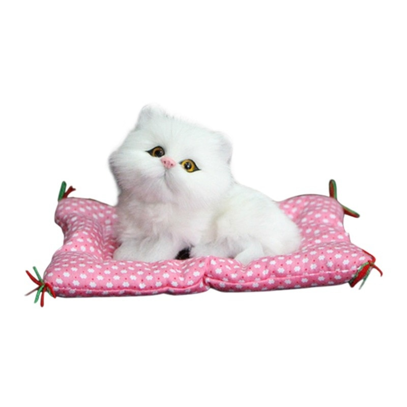 Simulation Plush Cat Electronic Pet With Lifelike Sounding Toy Children Stuffed Animal Cat Toy With