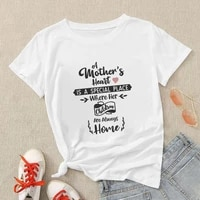 spain popular mothers day women t shirt 90s harajuku letter tops grunge aesthetic t shirt summer casual soft camiseta de mujer