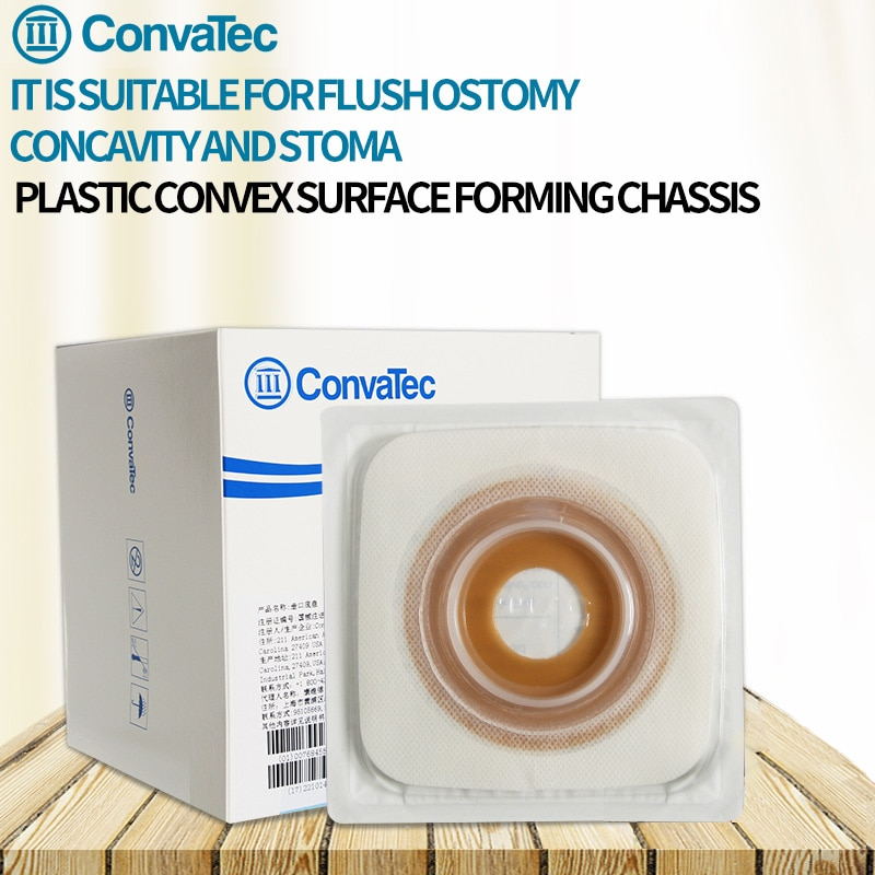 USA ConvaTec One-piece System Ostomy Bags Disposable Colostomy Pouch Ileostomy bag 10 PCS Opening Drainable Pouch Stoma Ostomy