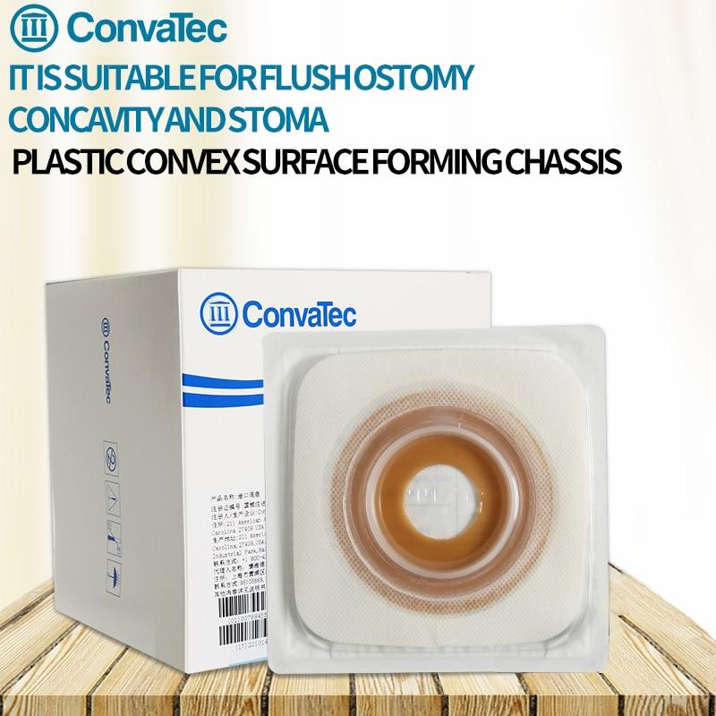 USA ConvaTec Sistema de una sola pieza bolsas de ostomía bolsa de colostomía desechable bolsa para ileostomía 10 Uds apertura Drainable bolsa estoma ostomía