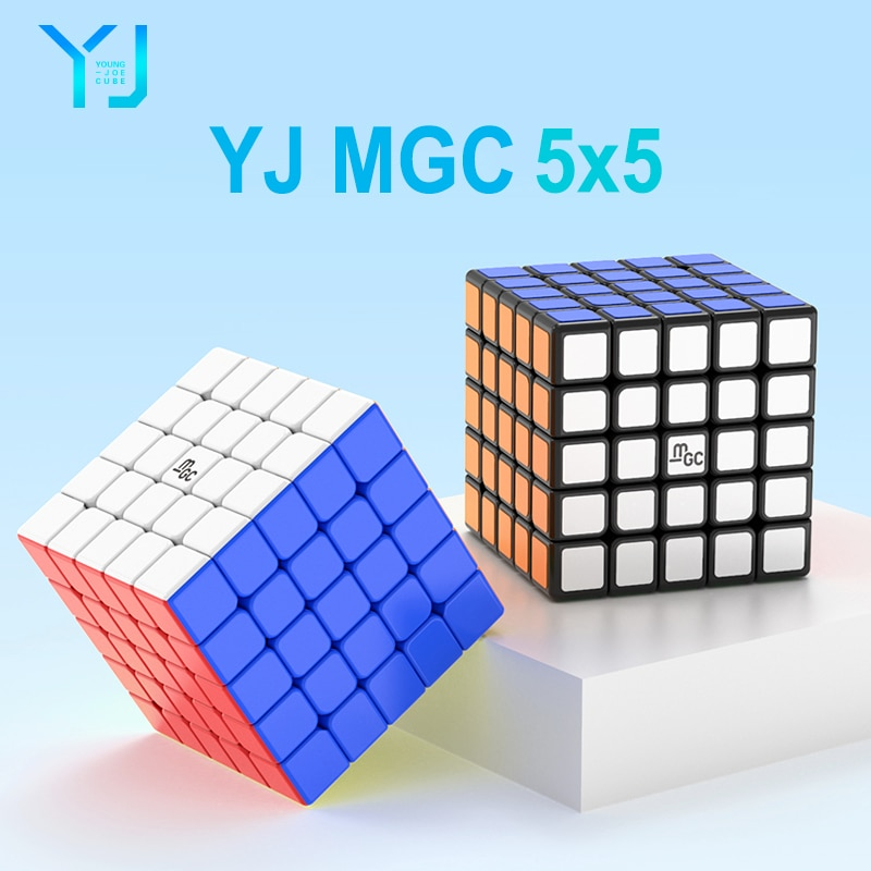 aosu gts m 4 4 4 magnetic magic cubes puzzle speed cube educational toys gifts for kids children YJ MGC 5 Cube 5x5 magnetic magic-cube 62mm Stickerless YongJun MGC5 5x5x5 magnets puzzle speed cubes educational toys for kids
