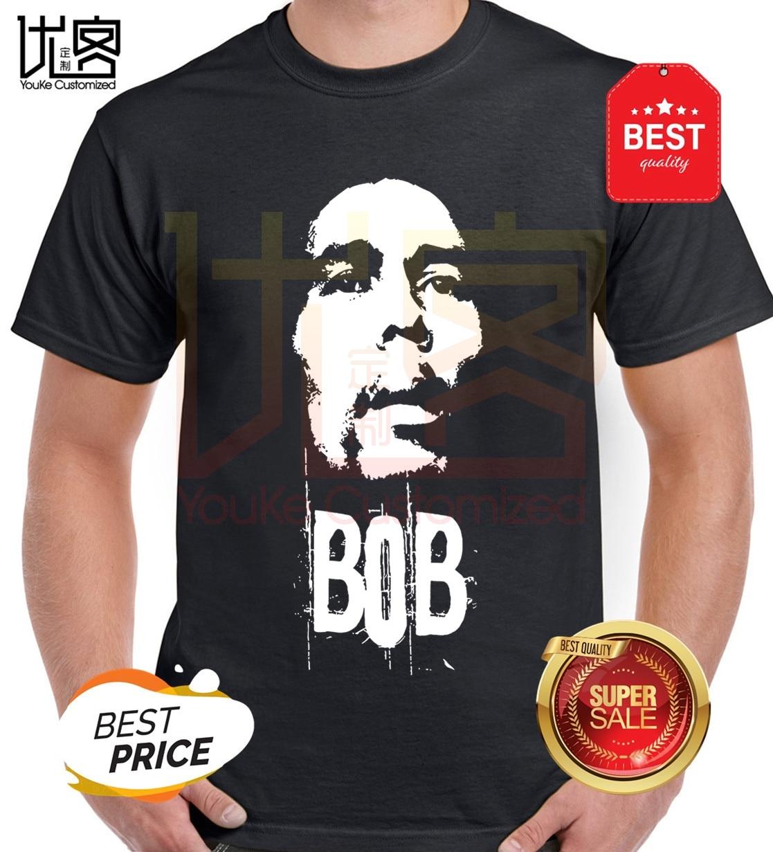 Pote Rasta Bob Marley Homens BlackT-camisa das mulheres dos homens 100% algodão de mangas curtas encabeça tee Crewneck impresso t-shirt ocasional