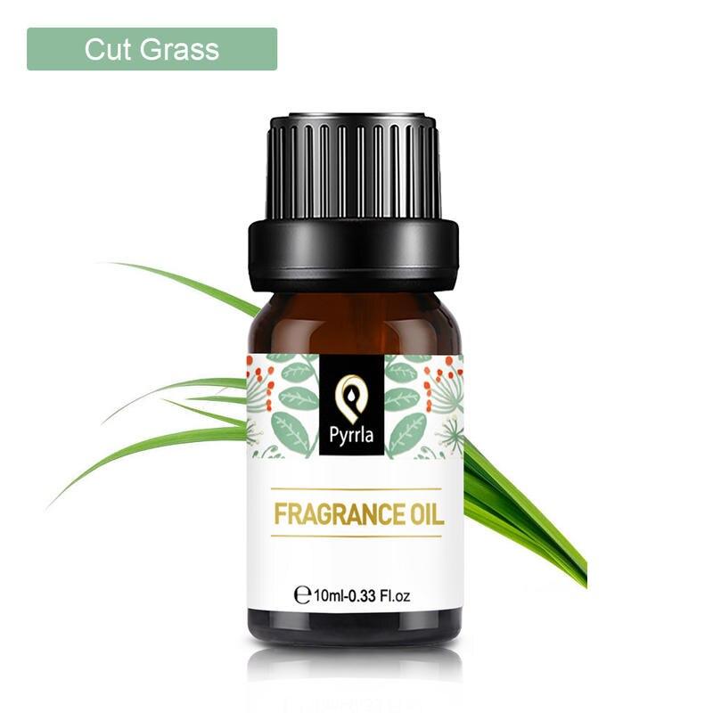 Aceite de fragancia de hierba cortada Pyrrla de 10ml para difusor de aromaterapia, goma de mascar de naranja, aceites esenciales de frutas salvajes