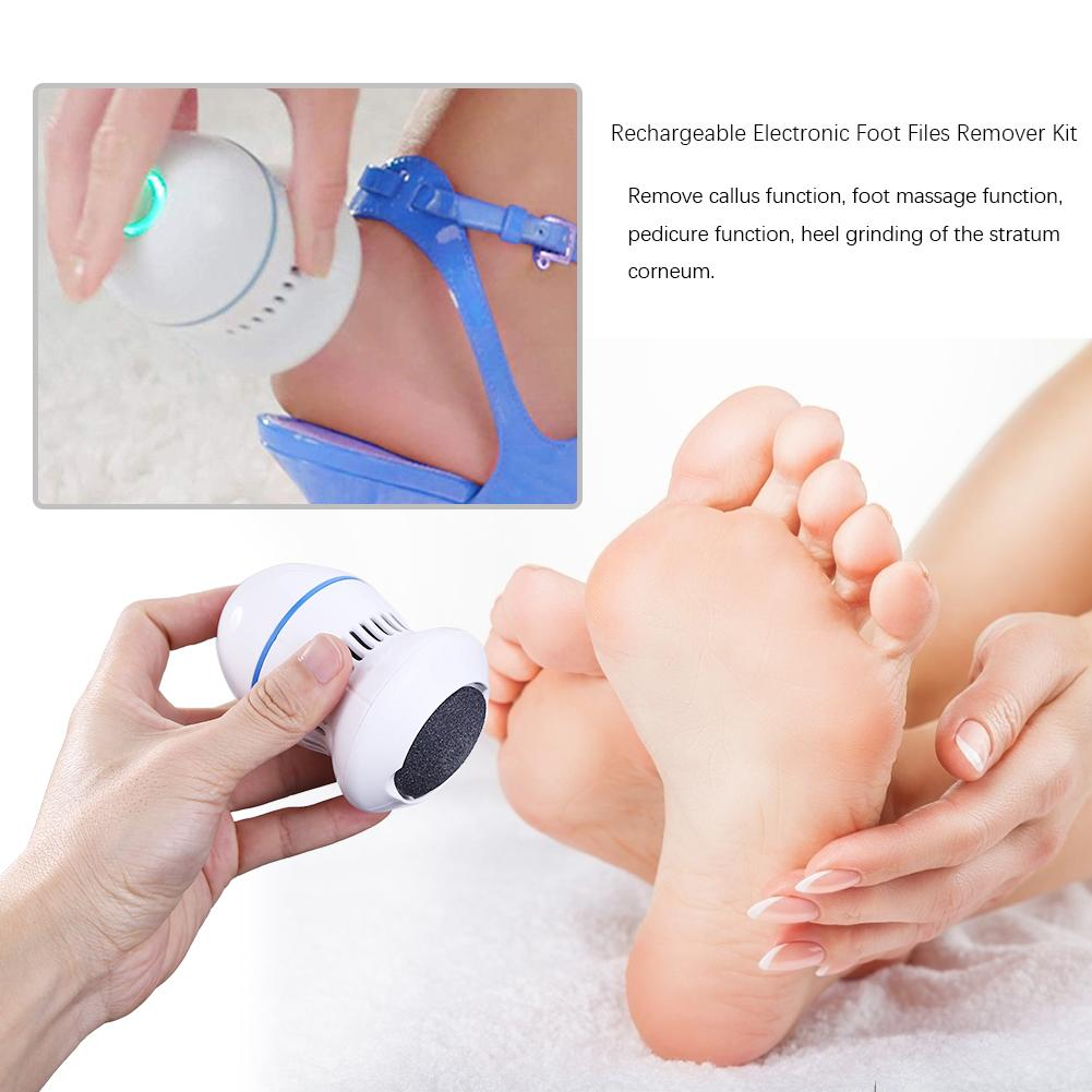 Rechargeable Electric Foot Grinder File Vacuum Dead Skin Callus Remover Foot Pedicure Tools Feet Care for Hard Cracked Cleaning enlarge