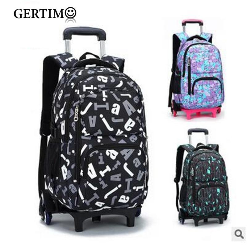 Mochilas escolares con ruedas para niños, mochilas escolares con ruedas